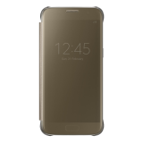Samsung Galaxy S7 Clear View suojakuori, Kulta