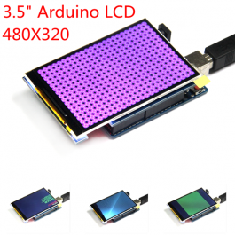 """3.5"""" LCD-näyttö Arduinolle"""