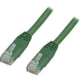 Cat5e UTP verkkokaapeli, 2m vihreä
