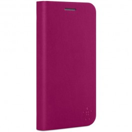 Belkin Classic Folio Samsung Galaxy S5 suojakotelo, lila/vaaleanpunainen