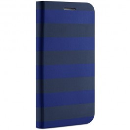 Belkin Classic Folio Samsung Galaxy S5 suojakotelo, musta/sininen