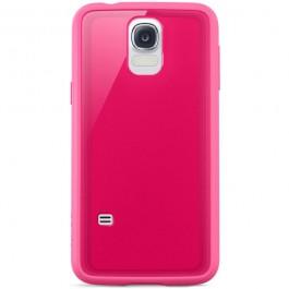 Belkin Grip Vue Samsung Galaxy S5 suojakuori, vaaleanpunainen