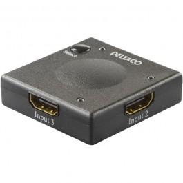 Automaattinen HDMI-kytkin 3xsisääntulo 1xulostulo