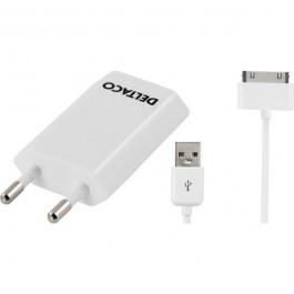 USB-verkkolaturi ja apple data-/latauskaapeli, 2m