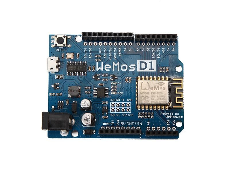 WeMos D1 R2 ESP8266 Wifi Kehitysalusta, Arduino yhteensopiva