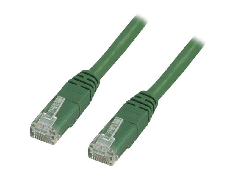 Cat5e UTP verkkokaapeli, 3m vihreä