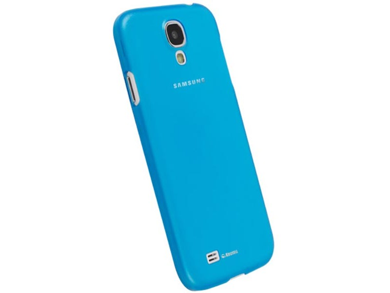 Krusell FrostCover Samsung Galaxy S4 suojakuori, sininen