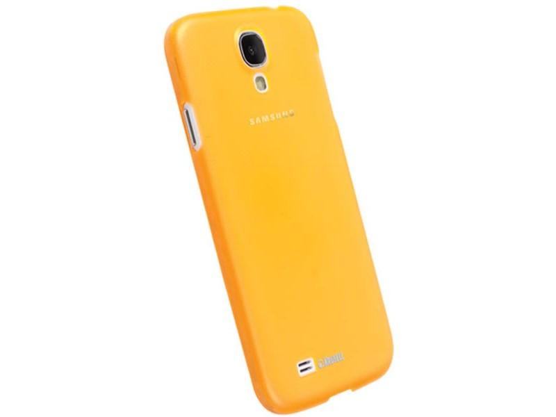 Krusell FrostCover Samsung Galaxy S4 suojakuori, keltainen