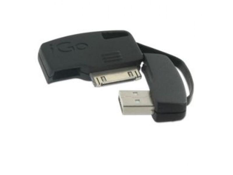 iGo KeyJuice data-/latauskaapeli iPad/iPhone/iPod