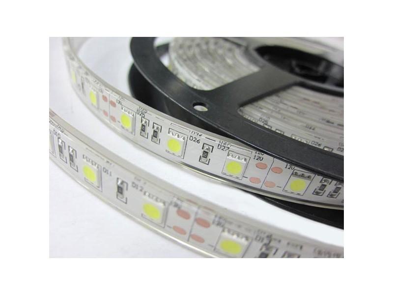 LED valonauha punaisella valolla 7.2W/m 12V, 5m
