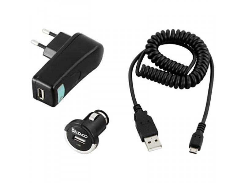 Deltaco micro-USB pikalaturisarja