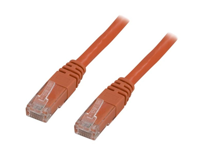 Cat6 UTP verkkokaapeli, 5m oranssi