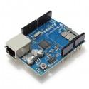 Ethernet shield ja micro-SD moduuli arduinolle
