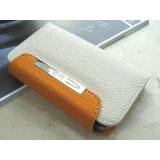 Wallet-suojakotelo iPhone 4 ja 4S (valkoinen)