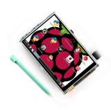 "3.5"" LCD kosketusnäyttö Raspberry Pi B+ ja Pi 2 B"