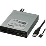 """Akasa USB 2.0 3.5"""" sisäinen muistikortinlukija USB 3.0 portilla"""