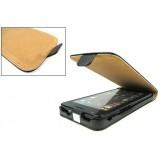 Nahkainen suojakotelo Galaxy S II (musta)
