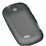 Samsung Galaxy 5 silikoninen suojakuori (savunharmaa)
