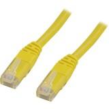 Cat5e UTP verkkokaapeli, 10m keltainen