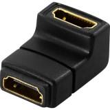 HDMI naaras-naaras kulma-adapteri