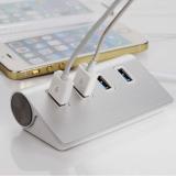 USB 3.0 alumiinihubi 4-port
