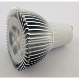 BridgeLux 3W 220lm LED-spotti GU10 3000K (230V)