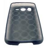 HTC Desire HD TPU-suojakuori (savunharmaa, ympyräkuvio)