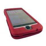 HTC Desire Z kaksiosainen suojakuori (punainen)