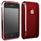 iPhone 3GS TPU-suojakuori (punainen)