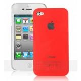 iPhone 4 kovamuovinen suojakuori (oranssi)