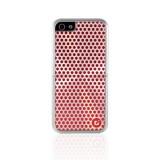 CDN Laminati iPhone 5 suojakuori, puna/hopea