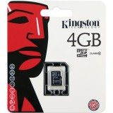 Kingston 4GB microSDHC Class 4 muistikortti
