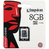 Kingston 8GB microSDHC Class 4 muistikortti