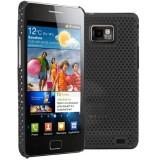 Samsung Galaxy S II verkkosuojakuori (musta)