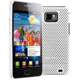 Samsung Galaxy S II verkkosuojakuori (valk.)