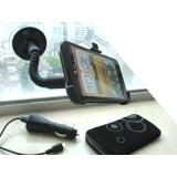 HTC One X autoteline, laturi ja suojapussi