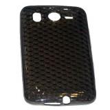 HTC Desire HD TPU-suojakuori (savunharmaa, timanttikuvio)