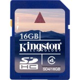 Kingston 16GB SDHC Class 4 muistikortti