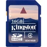 Kingston 16GB SDHC Class 4 muistikortti