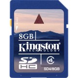 Kingston 8GB SDHC Class 4 muistikortti