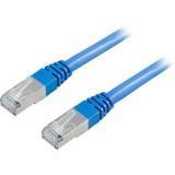 Cat6 FTP verkkokaapeli, 0.5m sininen