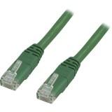 Cat6 UTP verkkokaapeli, 15m vihreä
