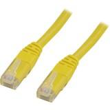 Cat6 UTP verkkokaapeli, 10m keltainen