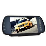 """7"""" LCD-näyttö Bluetooth A2DP-toiminnolla peruutuspeiliin"""