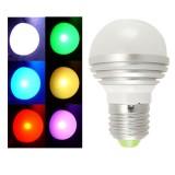 Väriä vaihtava LED lamppu kaukosäätimellä