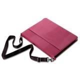 Suojakotelo iPad 2/3/4 tableteille kantoremmillä, punainen
